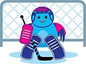 Bird is a hockey goalkeeper