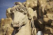 Horse Statue - Residenzbrunnen in Salzburg