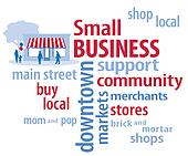Small Business, Red, White and Blue