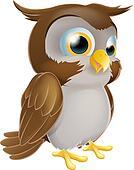 Cute Cartoon owl