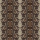 Snake skin reptile seamless pattern
