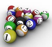 3d Billiard set