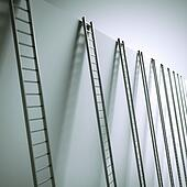 Ladders along the wall