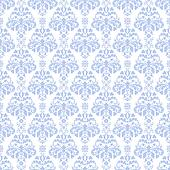 Blue & White Damask