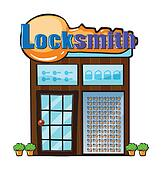 A locksmith shop