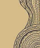 Elegant brown cover