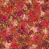 Background from multi-colored flower in bulk on a grass