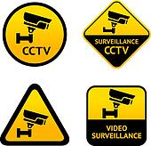 Video surveillance, set labels