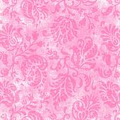 Vintage Light Pink Floral Tapestry