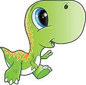 Cute Tyrannosaurus Rex Dinosaur