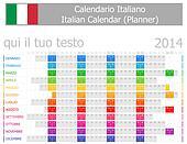 2014 Italian Planner Calendar