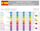 2014 Spanish Planner Calendar