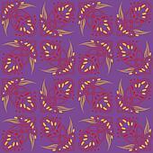 strange futuristic psychedelic pattern