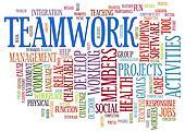 Teamwork word tags