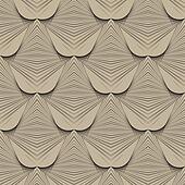 1930s geometric art deco modern pattern