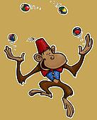 Little Monkey Juggler