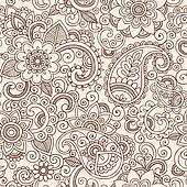 Mehndi Clip Art - Royalty Free - GoGraph