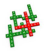 Crossword of marketing strategty