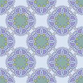 floral vector seamless pattern in soft colors