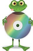 Frog and CD