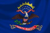 Flag of North Dakota American State