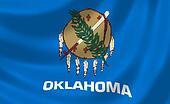 Flag of Oklahoma American State