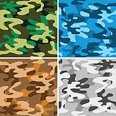 Camouflage backgrounds