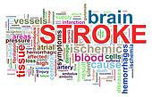 Word tags of brain stroke
