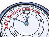 3d 24/7 support clock