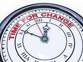 3d clock - time for change