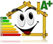 Energy Saving - House Smiling Meter Tool