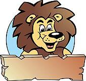 Proud Lion King - Logo Design