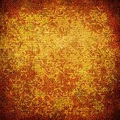 Highly detailed brown and orange grunge background or paper with vintage texture