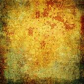 Highly detailed orange and yellow grunge background or paper with vintage texture