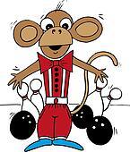 Bowling monkey