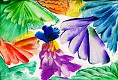 watercolors abstract bright flower as background