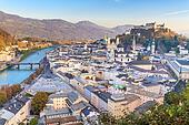 Salzburg (Austria) inner city