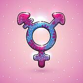 Transgender sex symbol