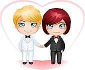 Gay Grooms Getting Married 3