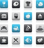 Food Icons - 1 // Matte Series