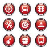 car maintenance and repair icons