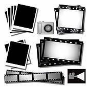 collection film strip, photo frames