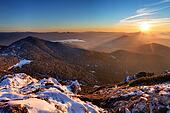 Tatra mountain at sunset - West Tatras, Rohace