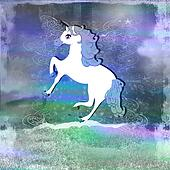Illustration of beautiful Unicorn.