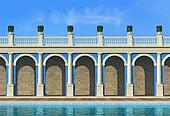 empty luxury classic resort