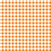 Seamless retro white-orange cloth