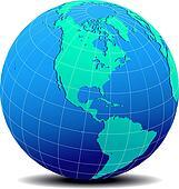 North South America Global World