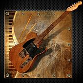 Brown Grunge Metal Background