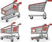 Shopping Cart or Trolley from Sever