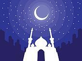 Ramadan & Eid Mubarak Greeting 3